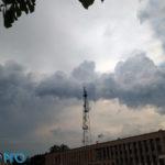 Редкие облака над г. Домодедово